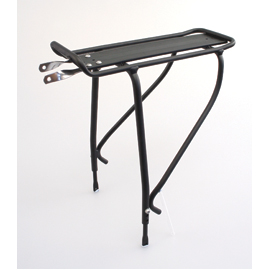 Maddison part ridge rear pannier rack disc black