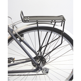 Trail rear pannier rack- black
